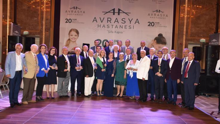Avrasya Hastanesi 20. Yılını Coşkuyla Kutladı.