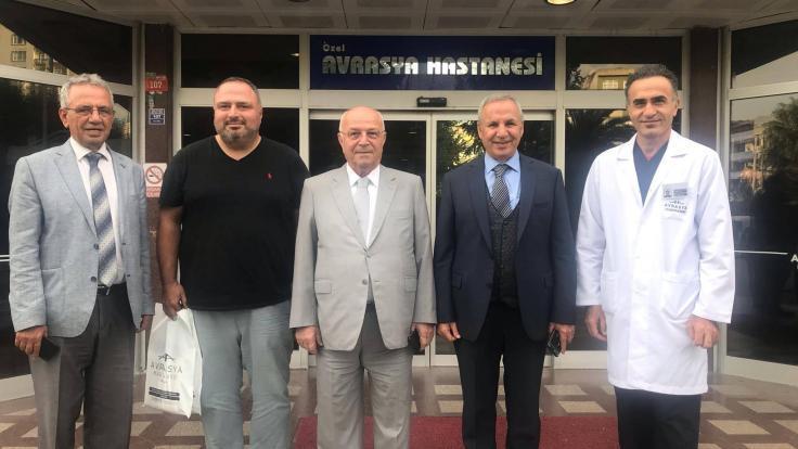 Beykent Üniversitesi ve Doğuş Üniversitesi Avrasya Hastanesi Zeytinburnu'nu Ziyaret Etti.